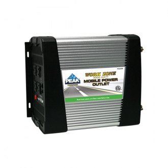 Peak® - Work Zone™ DC-AC Power Inverter with 2.1A USB