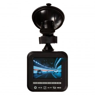 Peak® - Dash Camera with Built-in 2.4'' Screen
