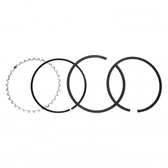 "Perfect Circle® - 4.000"" Bore File Fit Moly Piston Ring Set with Standard Oil Ring Tension"