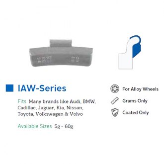 Perfect Equipment® - IAW Series Clip-On Wheel Weights