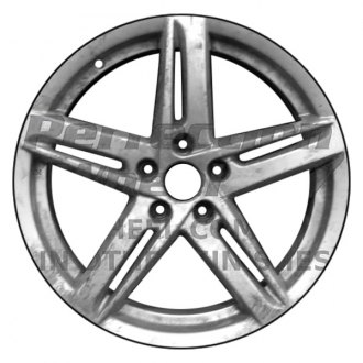 2009 audi a4 replacement factory wheels rims carid 2012 VW Passat Body Kit perfection wheel 18x8 10 spoke fine bright silver full face alloy factory wheel