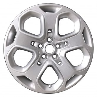 "Perfection Wheel® - 18"" Refinished 5 Spokes Sparkle Silver Full Face Factory Alloy Wheel"