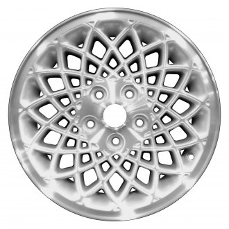 "Perfection Wheel® - 16"" Refinished Diamond Design Sparkle Silver Machined Factory Alloy Wheel"
