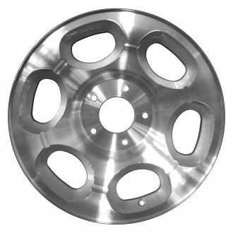 Perfection Wheel® - 17x7.5 6-Slot Sparkle Silver Machined Alloy Factory Wheel (Refinished)