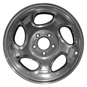 "Perfection Wheel® - 16"" Refinished 5 Spokes Full Polish Factory Alloy Wheel"