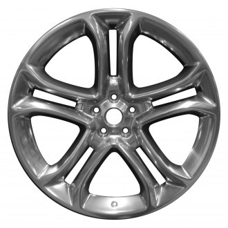 "Perfection Wheel® - 22"" Refinished 5 Split Spokes Full Polish Factory Alloy Wheel"