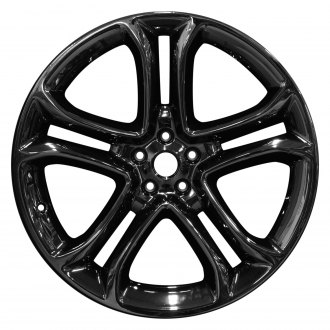 "Perfection Wheel® - 22"" Refinished 5 Split Spokes PVD Dark Full Face Factory Alloy Wheel"