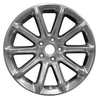"Perfection Wheel® - 18"" Refinished 10 Spokes Full Polish Factory Alloy Wheel"