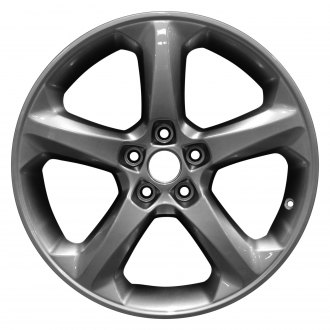 "Perfection Wheel® - 18"" Refinished 5 Spokes Hyper Medium Silver Full Face Factory Alloy Wheel"