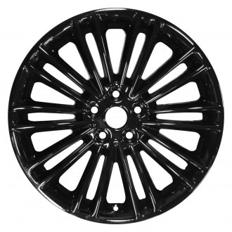 "Perfection Wheel® - 18"" Refinished 20 Spokes Black Full Face Factory Alloy Wheel"