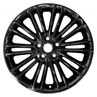 "Perfection Wheel® - 18"" Refinished 20 Spokes PVD Dark Full Face Factory Alloy Wheel"
