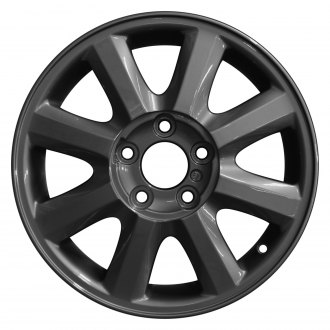 "Perfection Wheel® - 16"" Refinished 8 Spokes Dark Sparkle Charcoal Full Face Factory Alloy Wheel"