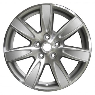"Perfection Wheel® - 18"" Refinished 7 Spokes Sparkle Silver Machined Factory Alloy Wheel"