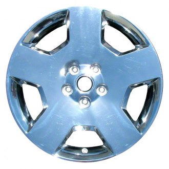 "Perfection Wheel® - 18"" Refinished 5 Spokes PVD Bright Full Face Factory Alloy Wheel"
