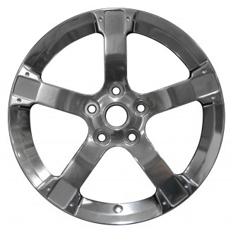 "Perfection Wheel® - 17"" Refinished 5 Spokes Full Polish Factory Alloy Wheel"