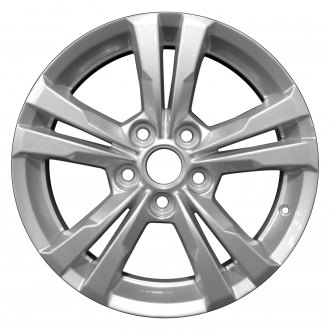 "Perfection Wheel® - 17"" Refinished 5 Double Spokes Factory Alloy Wheel"
