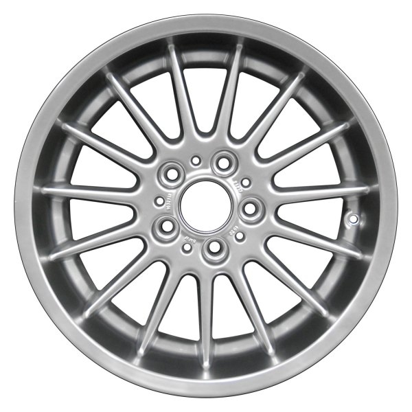 Silver Bmw 540i