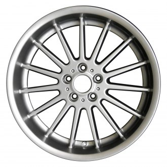"Perfection Wheel® - 20"" Refinished 15 Spokes Hyper Bright Mirror Silver Full Face Factory Alloy Wheel"