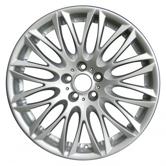 "Perfection Wheel® - 20"" Refinished 12 Split Spokes Bright Medium Silver Full Face Factory Alloy Wheel"