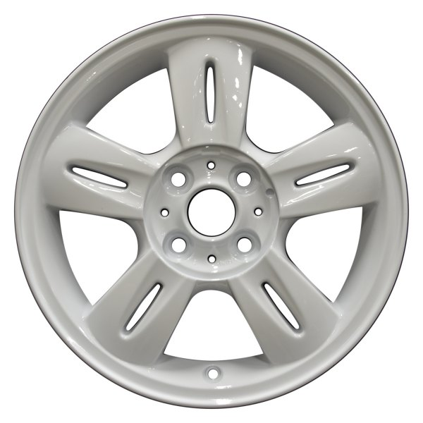 "Perfection Wheel® - 15"" Refinished 5 Split Spokes Bright White Full Face Factory Alloy Wheel"