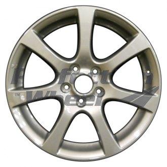 2007 honda civic replacement factory wheels rims carid 07 Civic Si Turbo Kit perfection wheel 18x7 7 spoke dark tan metallic full face sticker alloy factory