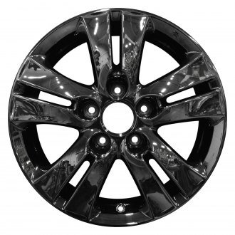 "Perfection Wheel® - 16"" Refinished 5 Double Spokes PVD Dark Full Face Factory Alloy Wheel"