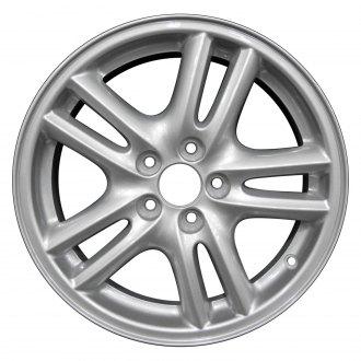 2005 subaru legacy replacement factory wheels rims carid 05 Subaru Impreza Outback Sport perfection wheel 16x6 5 10 spoke sparkle silver full face alloy factory