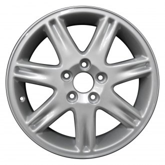 "Perfection Wheel® - 16"" Refinished 7 Spokes Bright Sparkle Silver Full Face Factory Alloy Wheel"