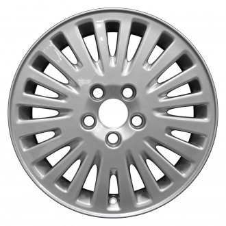 "Perfection Wheel® - 16"" Refinished 20 Spokes Sparkle Silver Full Face Factory Alloy Wheel"