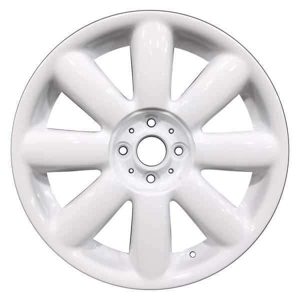 "Perfection Wheel® - 17"" Refinished 8-Spoke Bright White Full Face Factory Alloy Wheel"