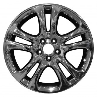 "Perfection Wheel® - 19"" Refinished 5 Double Spokes PVD Bright Full Face Factory Alloy Wheel"
