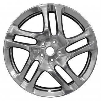 "Perfection Wheel® - 20"" Refinished 5 Double Spokes Full Polish Factory Alloy Wheel"