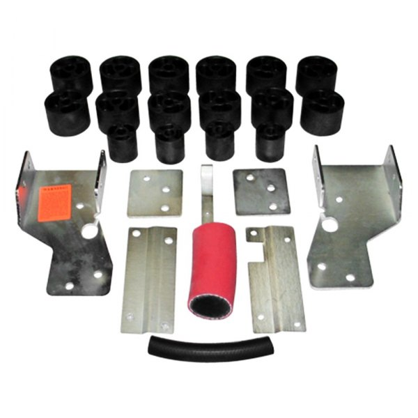 Performance Accessories® - Front and Rear Body Lift Kit