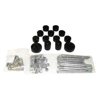 "Performance Accessories® - 1"" x 1"" Front and Rear Body Lift Kit"