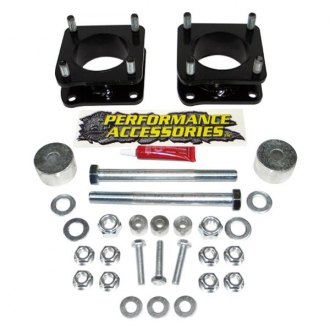 "Performance Accessories® - 2.5"" Front Strut Spacers"