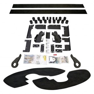 "Performance Accessories® - 5"" x 5"" Premium Front and Rear Body Lift Kit"