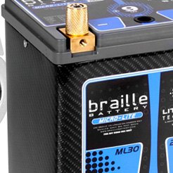 Braille Battery - Carbon Lithium Micro Lite Battery