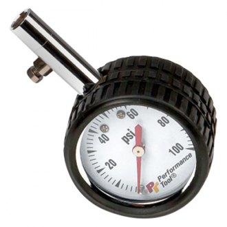 Performance Tool W1915 Tire Shaped Tire Pressure Gauge,