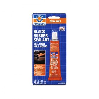 Permatex® - Black Rubber Sealant
