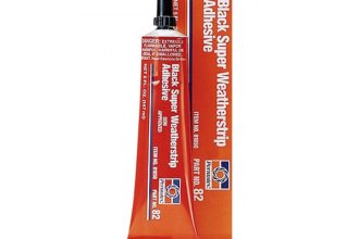 Permatex® - Black Super Weatherstrip Adhesive