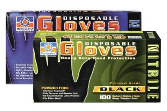 Permatex® - Nitrile Disposable Gloves