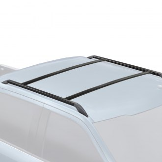 RE/&AR Tuning Roof Rack fits Mitsubishi Lancer 2008-2017 Cross Bars Rail Carrier Aluminum Gray Rain Gutter