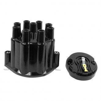 PerTronix® - Flame-Thrower Black Distributor Cap and Rotor Kit
