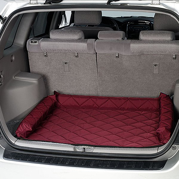 Image may not reflect your exact vehicle! Pet Pad� - Burgundy Cargo Protector