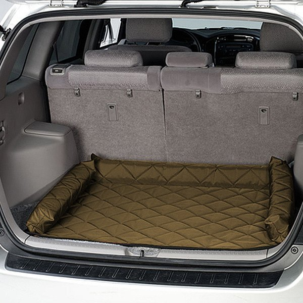 Image may not reflect your exact vehicle! Pet Pad® - Khaki Cargo Protector
