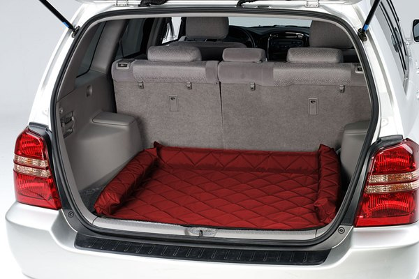 Image may not reflect your exact vehicle! Pet Pad® - Red Cargo Protector