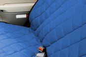 Image may not reflect your exact vehicle! Pet Pad® - Bright Blue Bench Seat Protector
