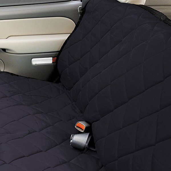 Image may not reflect your exact vehicle! Pet Pad® - Charcoal Bench Seat Protector