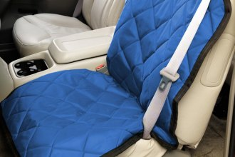 Image may not reflect your exact vehicle! Pet Pad® - Bright Blue Bucket Seat Protector