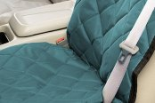 Image may not reflect your exact vehicle! Pet Pad® - Hunter Green Bucket Seat Protector